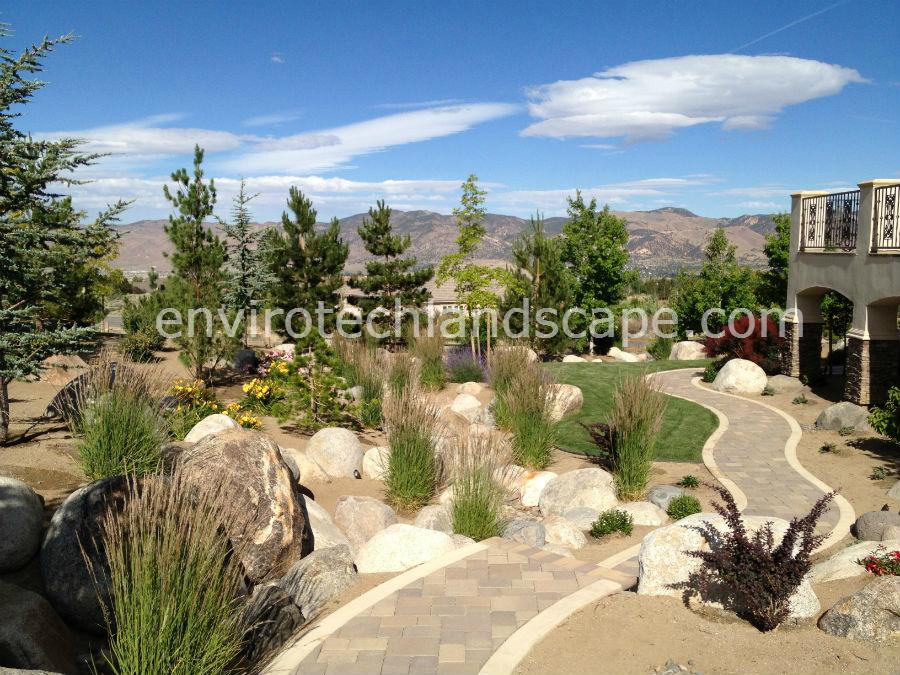 Welcome to envirotech landscape construction reno nevada for Outdoor design reno